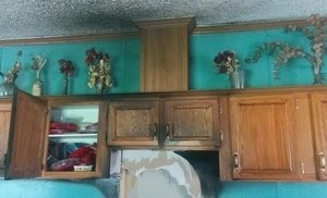 Water Damage Fire Damage Restoration Of Cozy Kitchen